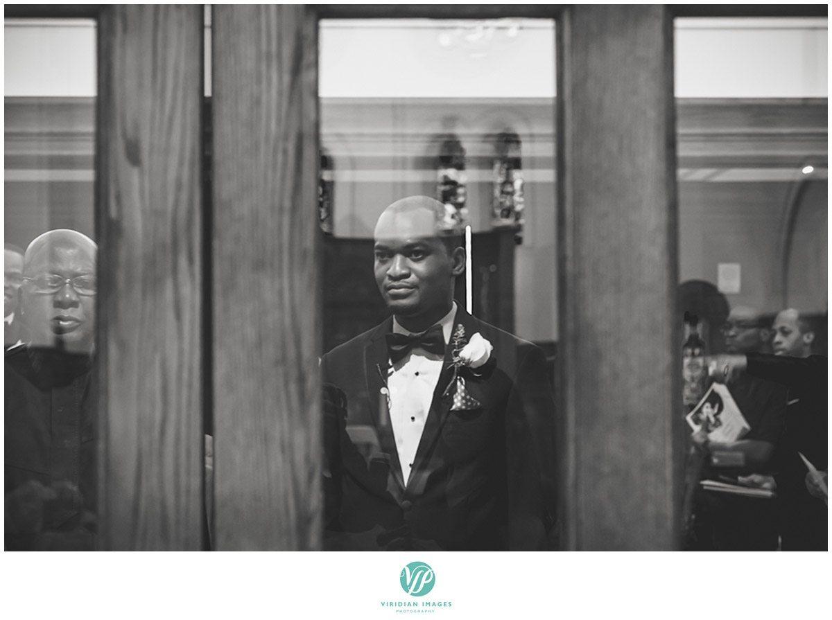 Renaissance Waerly Atlanta Wedding Groom Waiting Photo