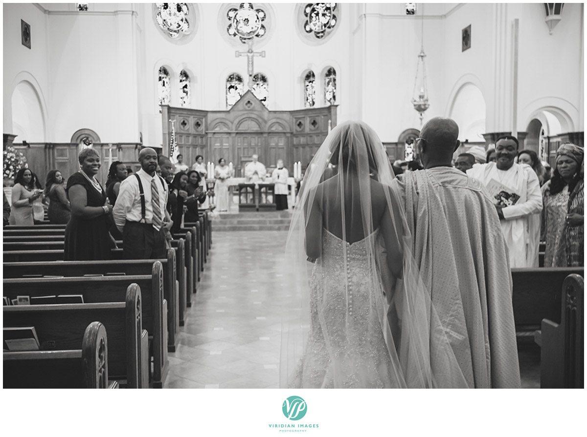 Holy Spirit Catholic Church Here Comes the Bride Photo
