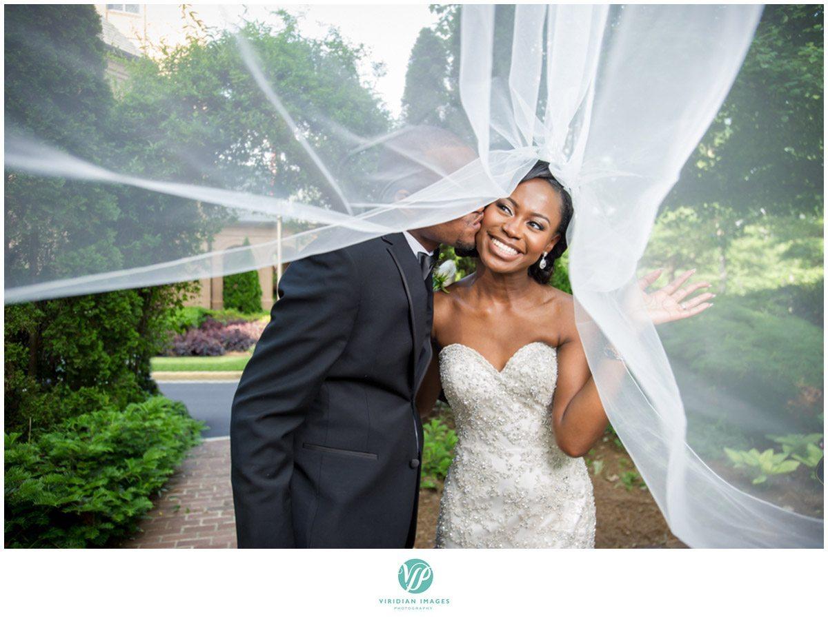 Renaissance Waerly Atlanta Wedding Bride and Groom Photo