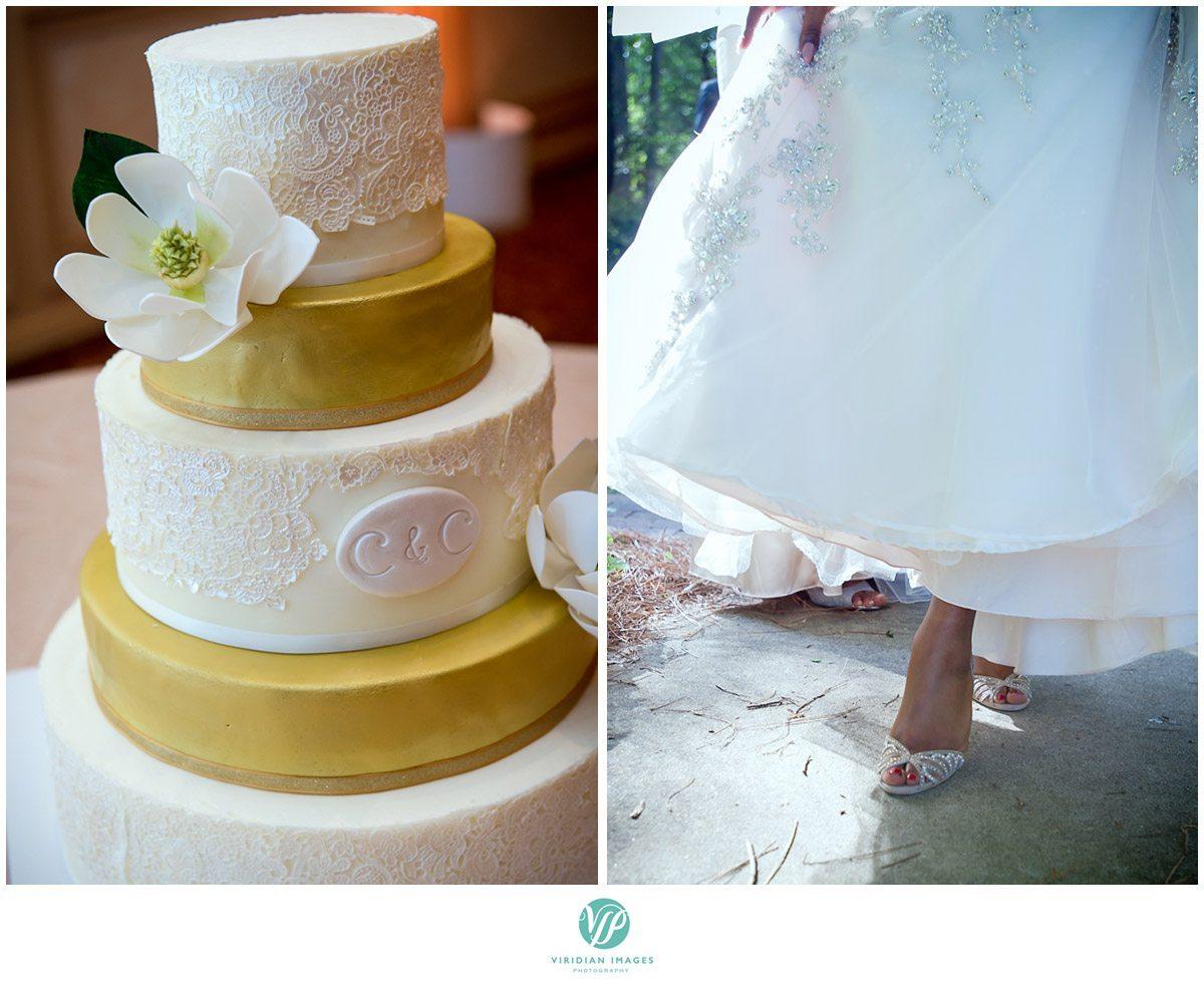 Renaissance Waerly Atlanta Wedding Cake Photo