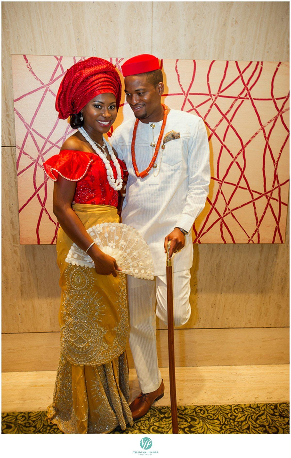 Renaissance Waerly Atlanta Wedding Nigerian Bride and Groom Photo
