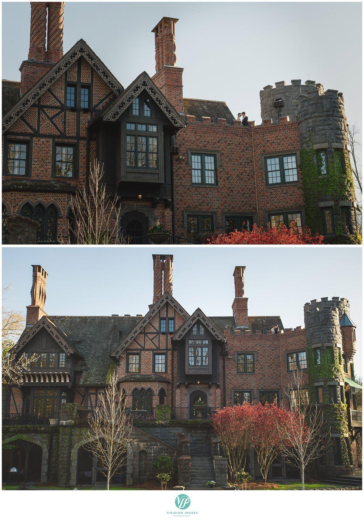Bisham Manor Wedding Facade Castle Photo