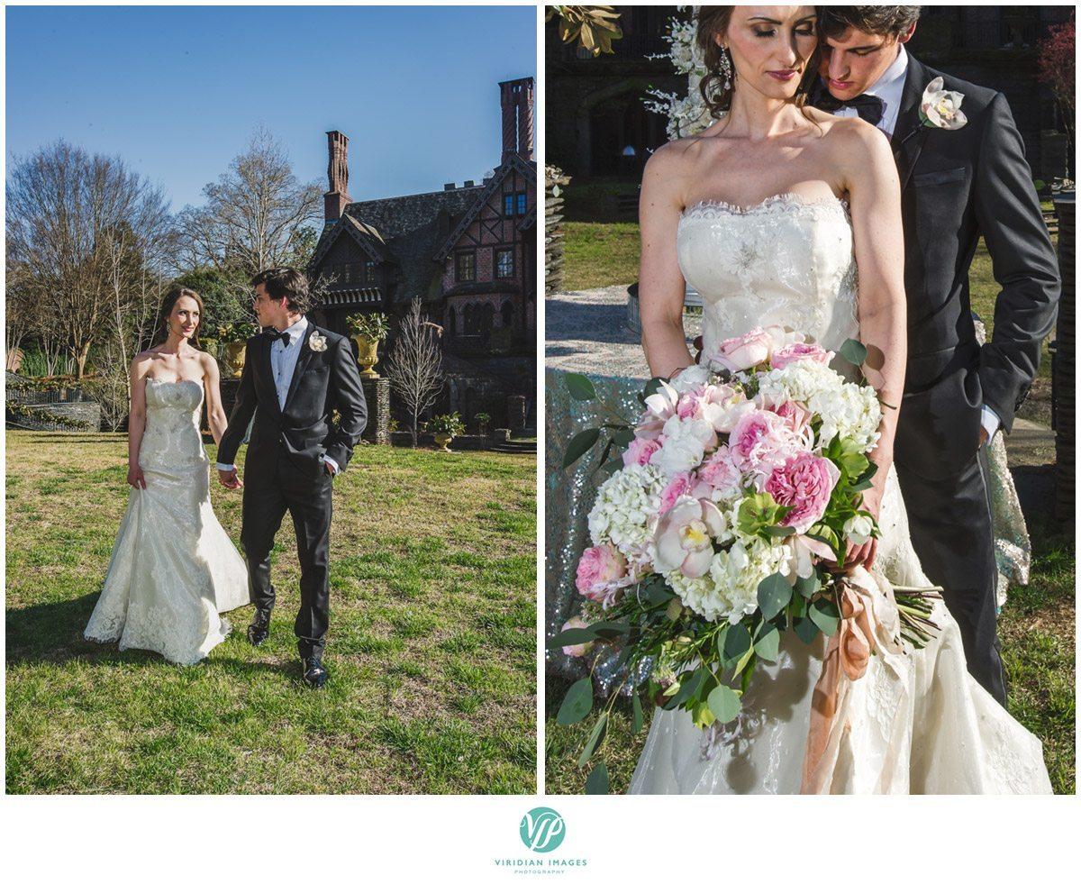 Bisham Manor Wedding Bride and Groom Detail Photo