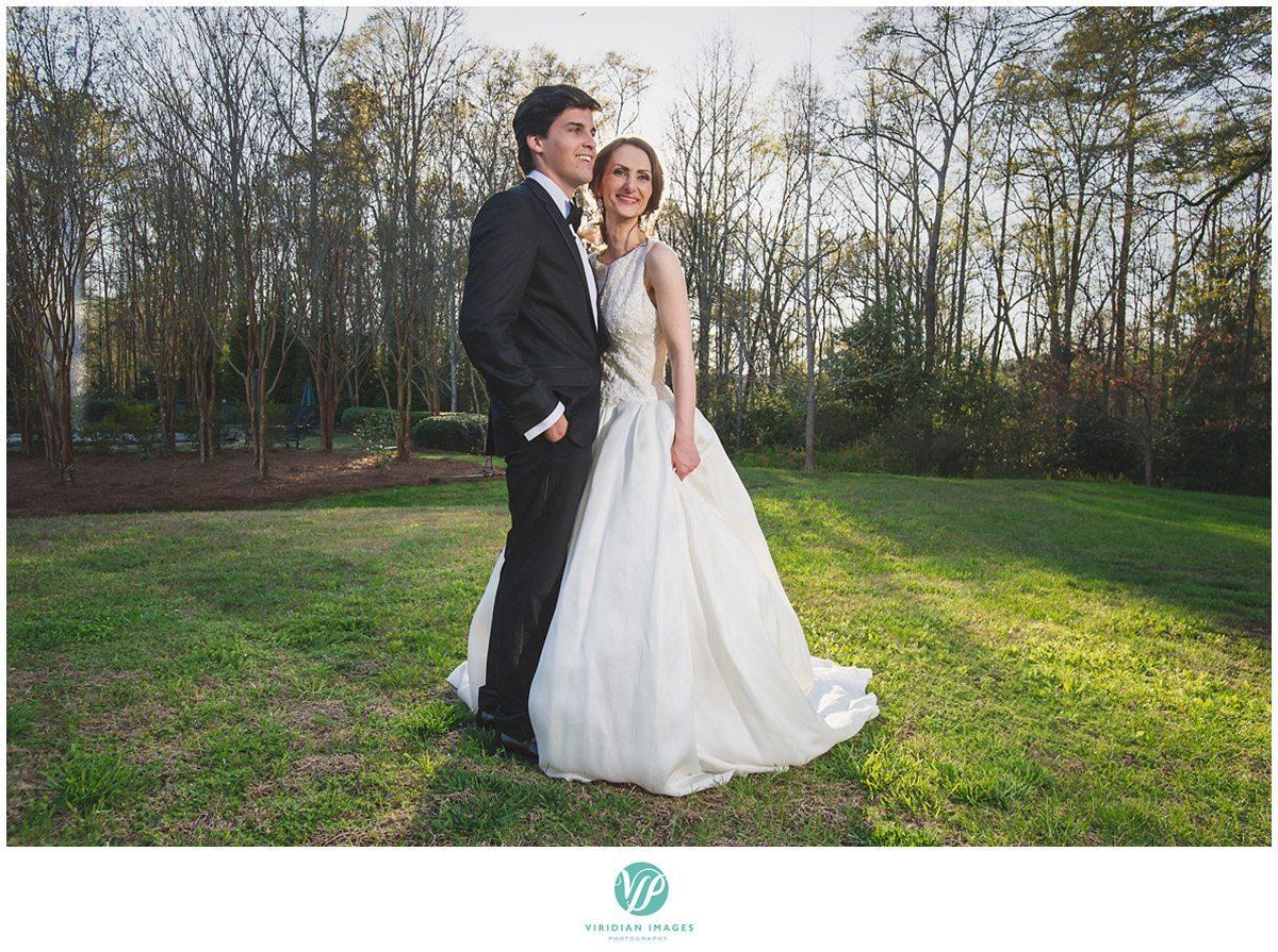 Bisham Manor Wedding Bride and Groom Portrait Photo