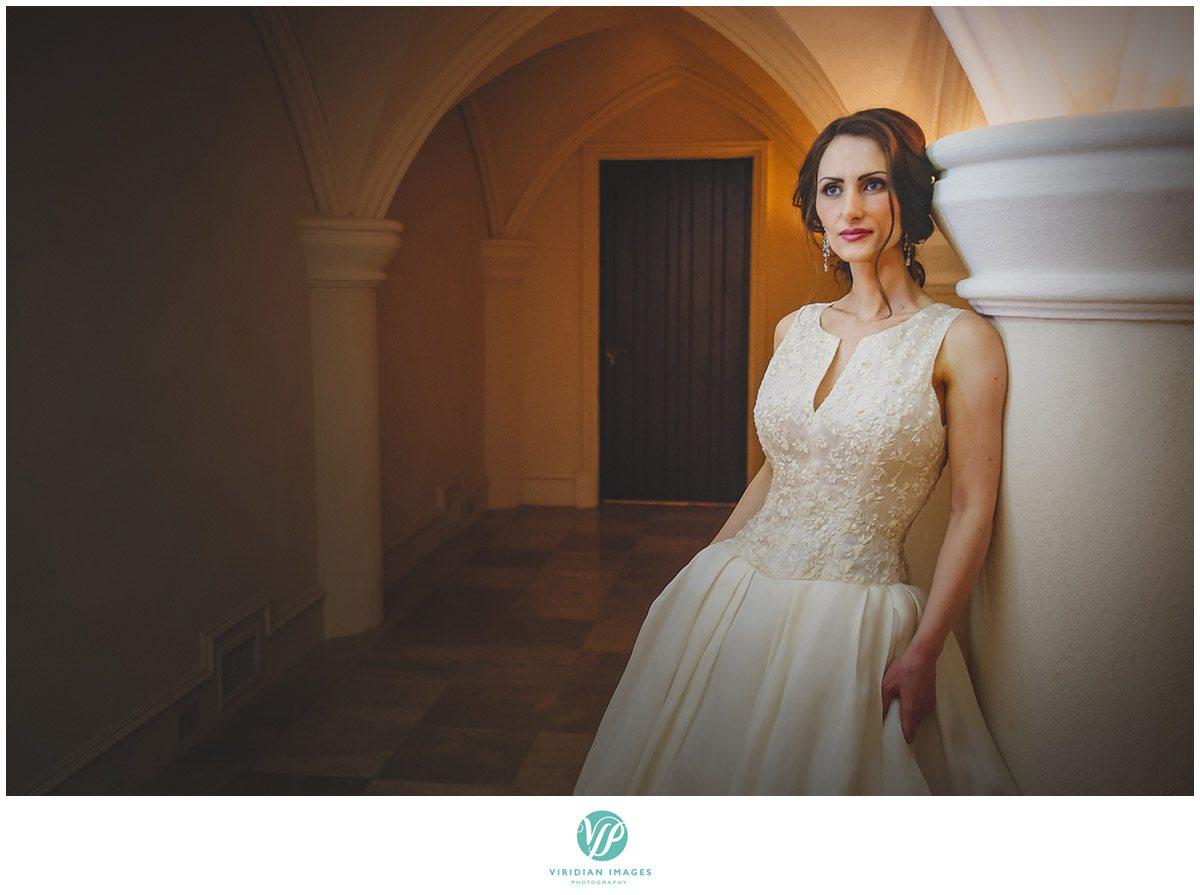 Bisham Manor Wedding Bride Portrait Photo