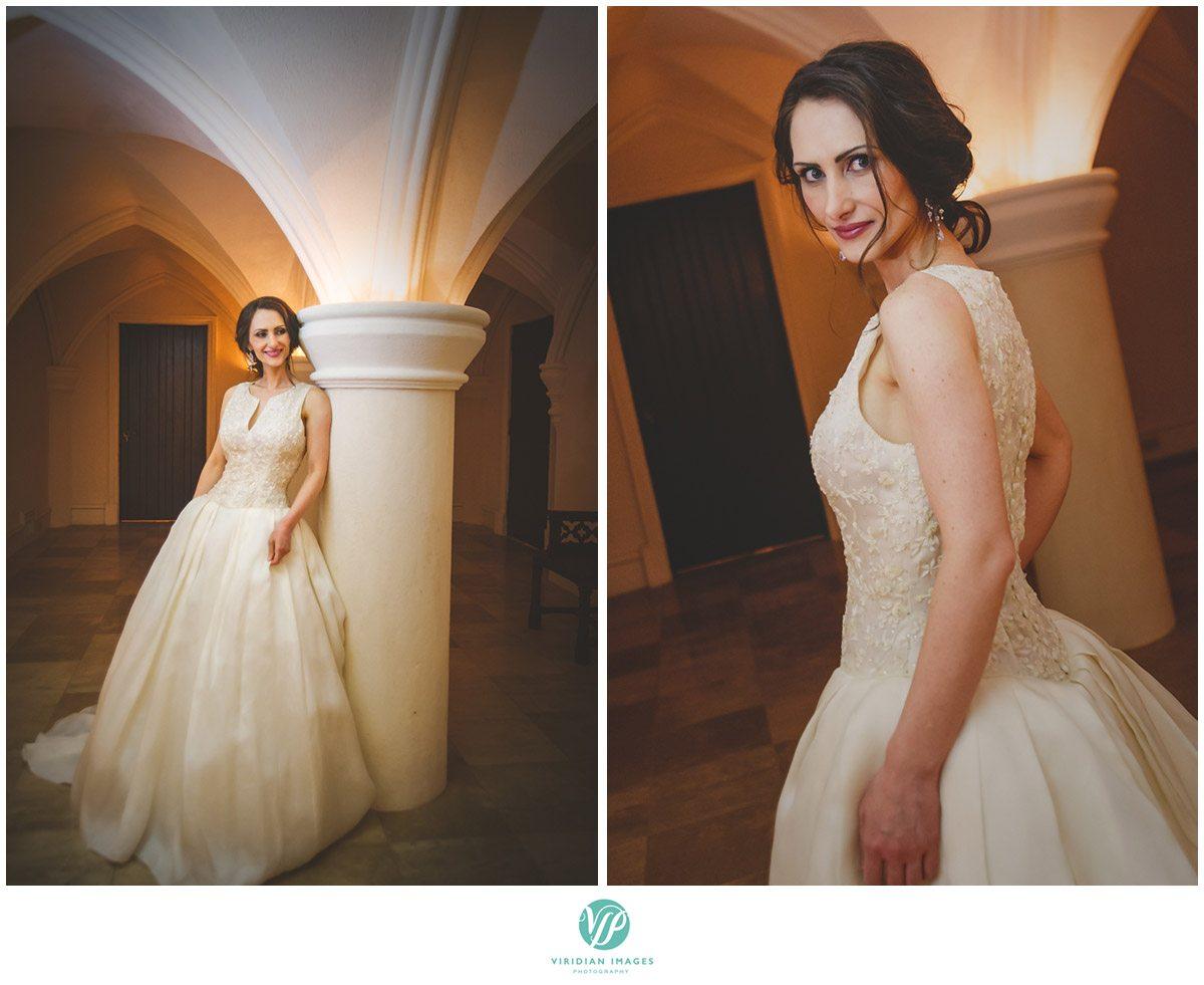 Bisham Manor Wedding Bride Portrait Closeup Photo