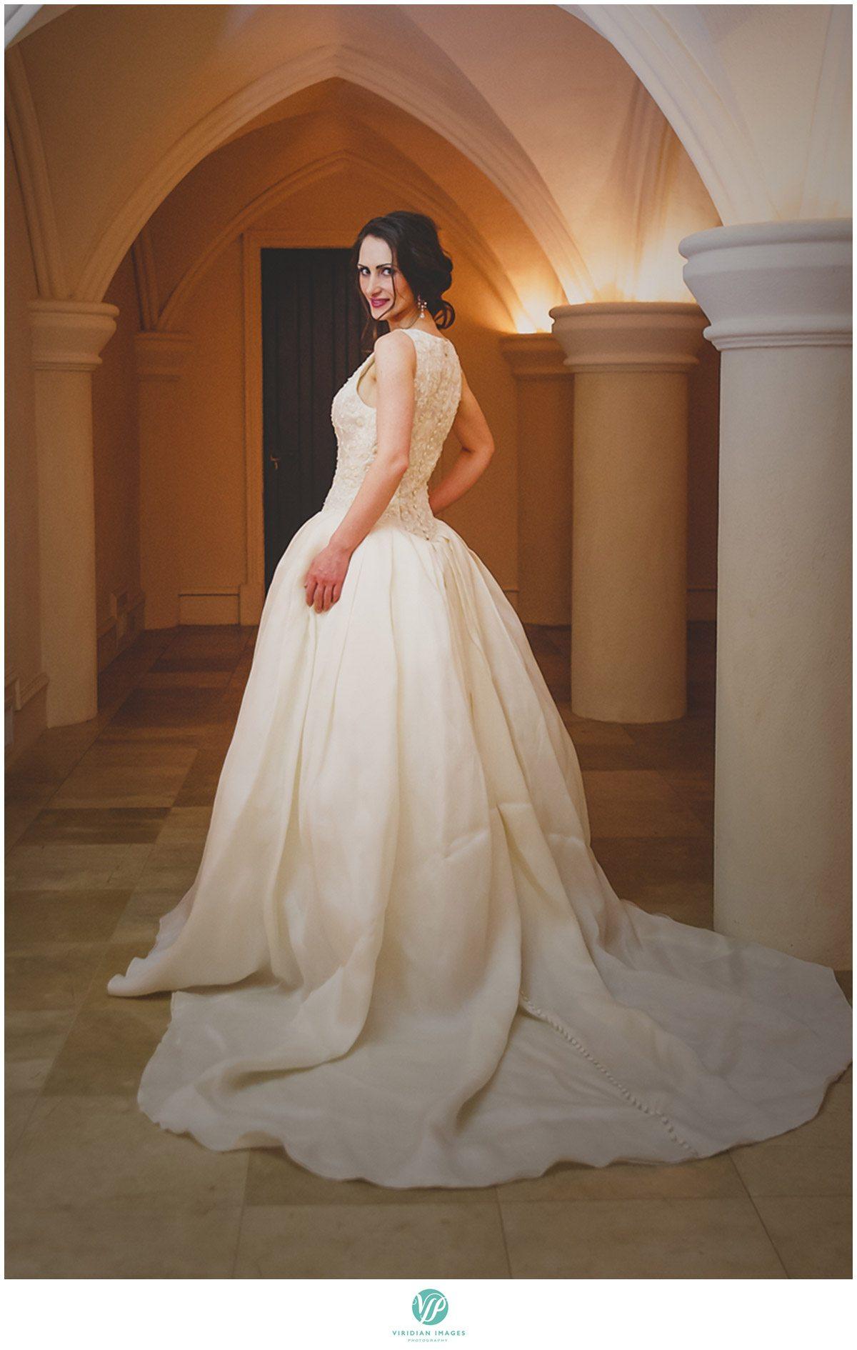 Bisham Manor Wedding Bridal Portrait Photo