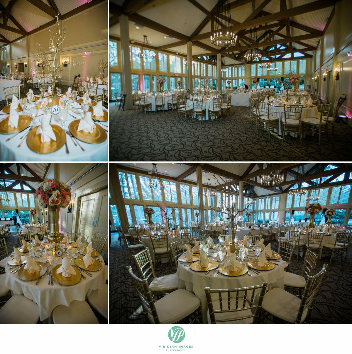 Country Club of the South Johns Creek GA Wedding reception setup photo 16