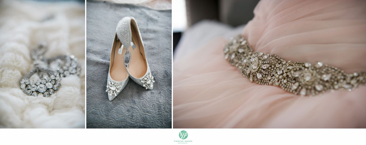 Country Club of the South Johns Creek GA Wedding earings shoes dress photo 2
