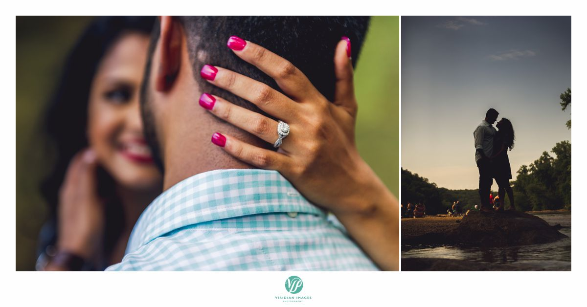 Chattahoochee Atlanta engagement ring shot