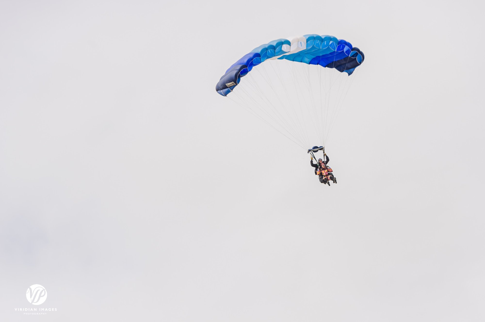 Groom skydiving in Hella Iceland