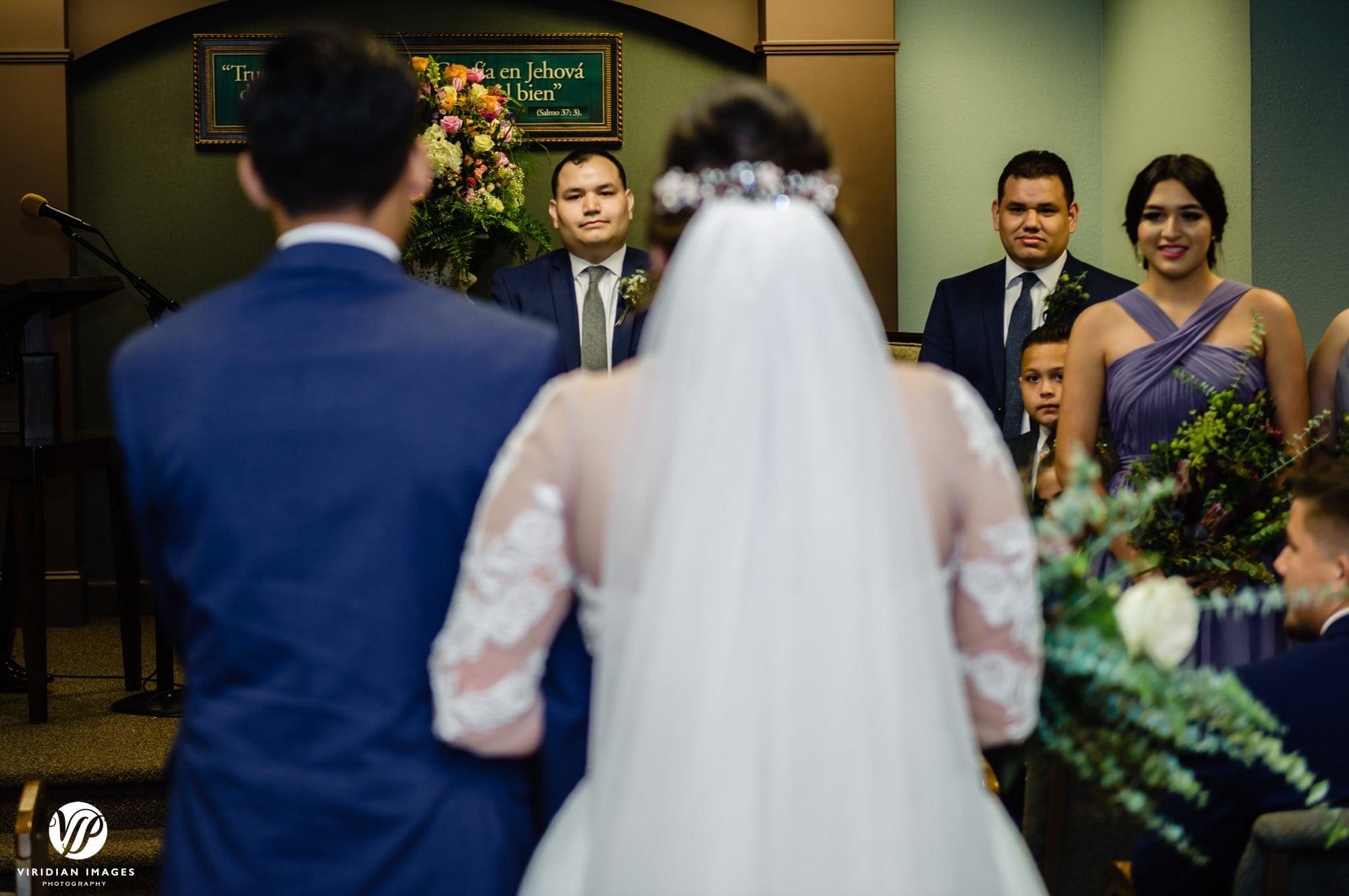 Kingdom Hall wedding processional