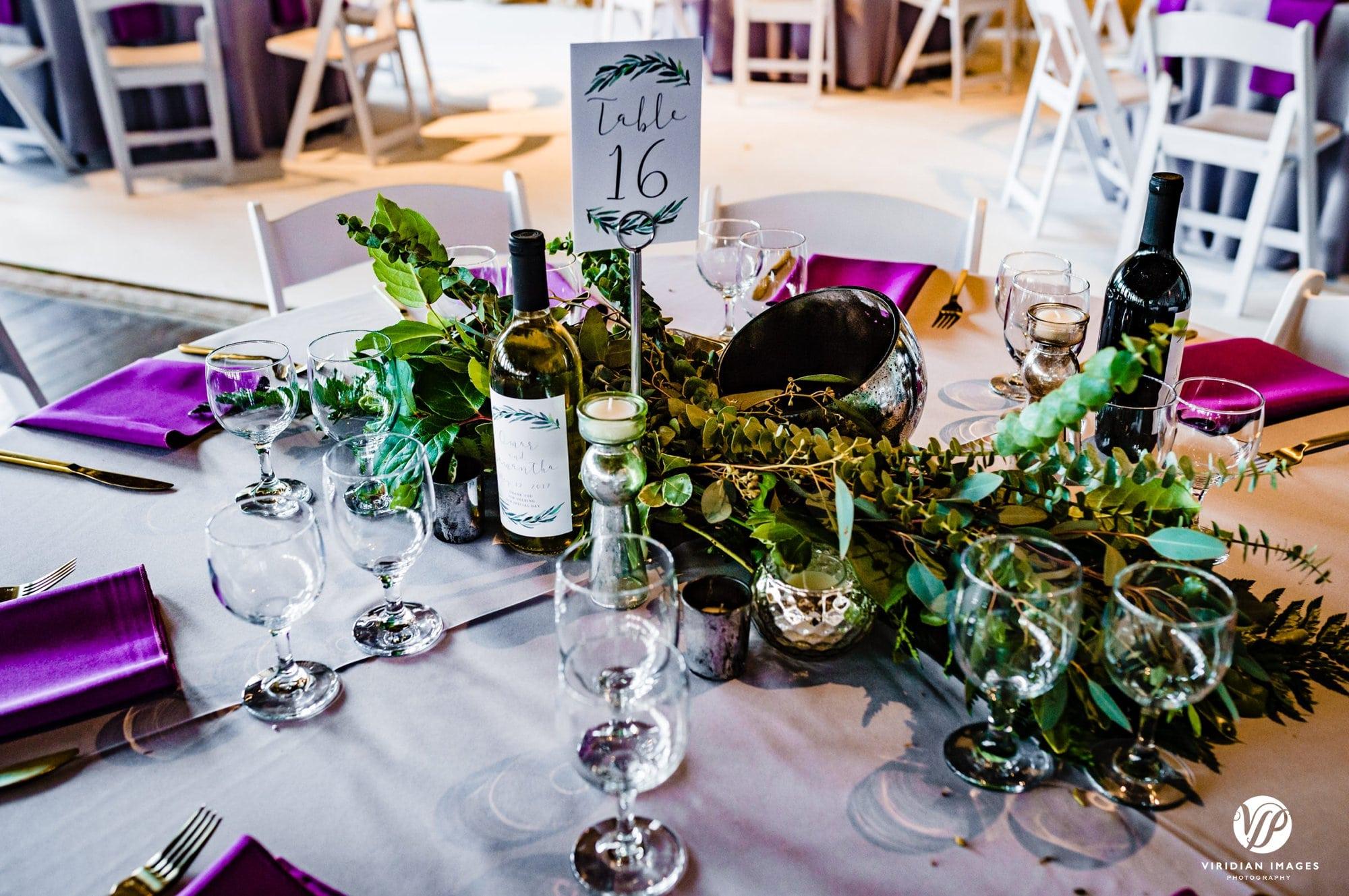 Ambient+Studio wedding reception table setting