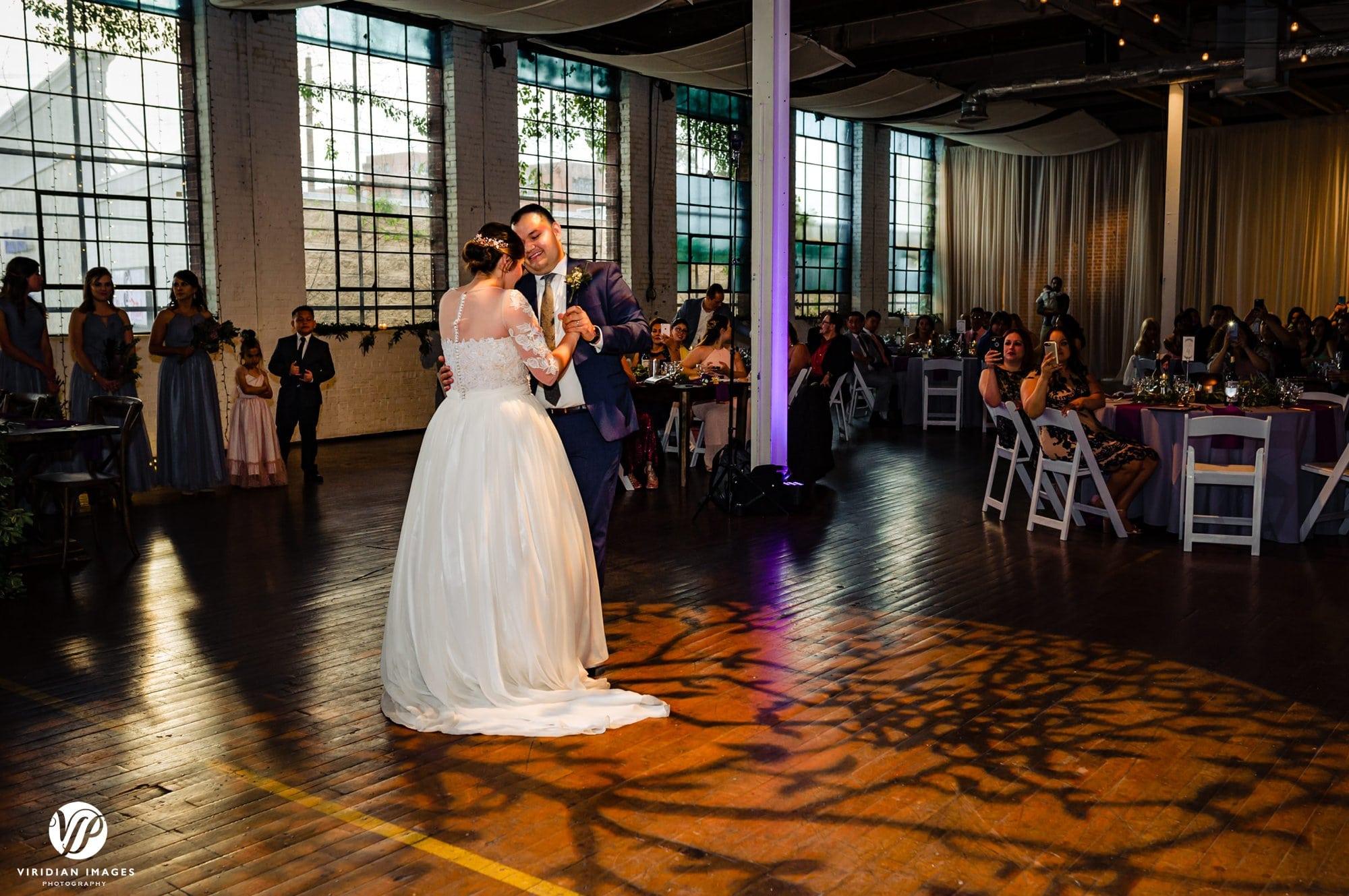 Ambient+Studio wedding reception first dance