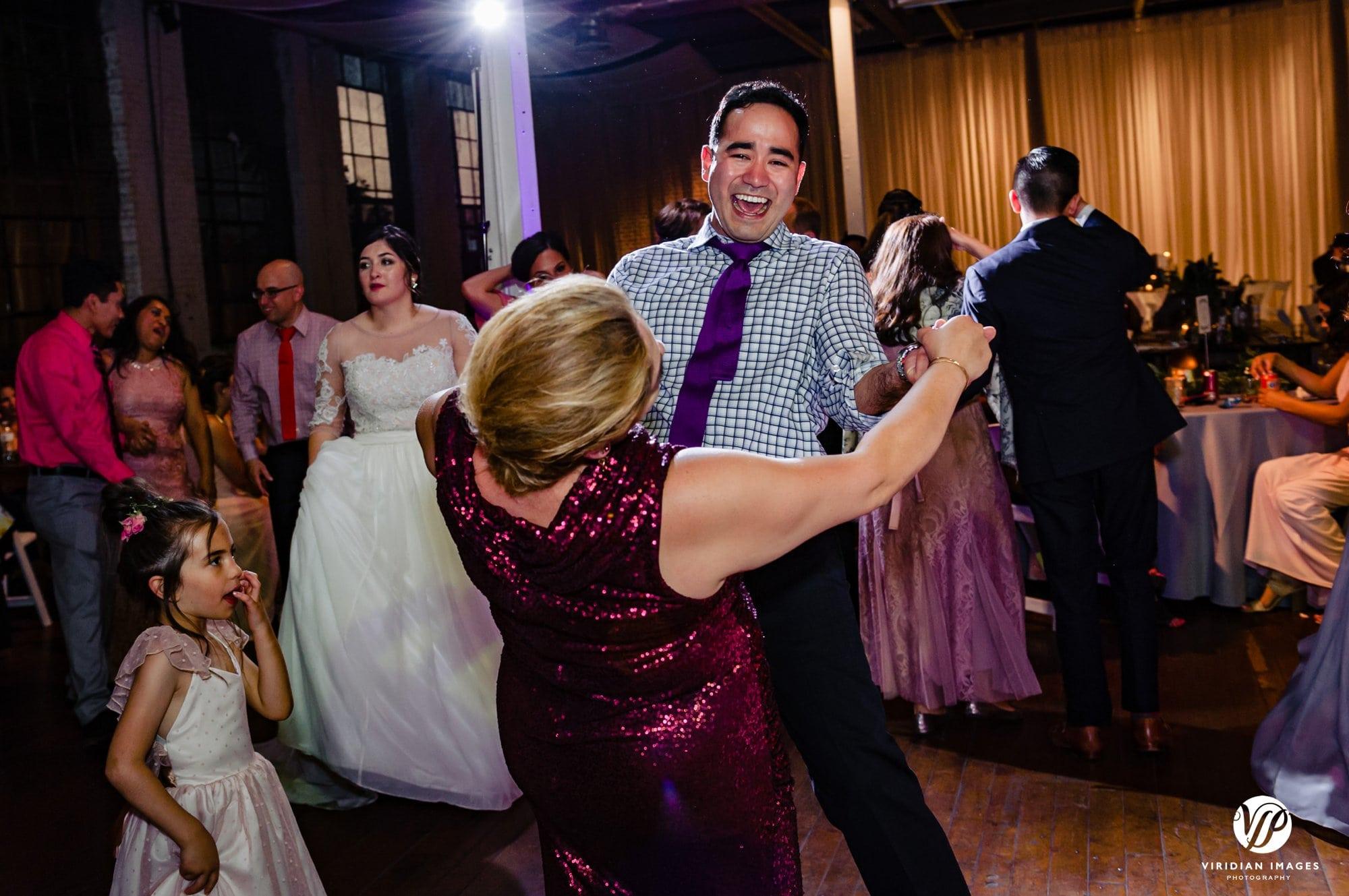 Ambient+Studio wedding reception dancing MOB