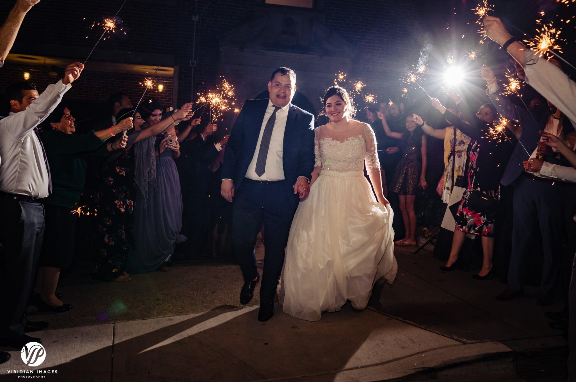 Ambient+Studio wedding sparkler exit