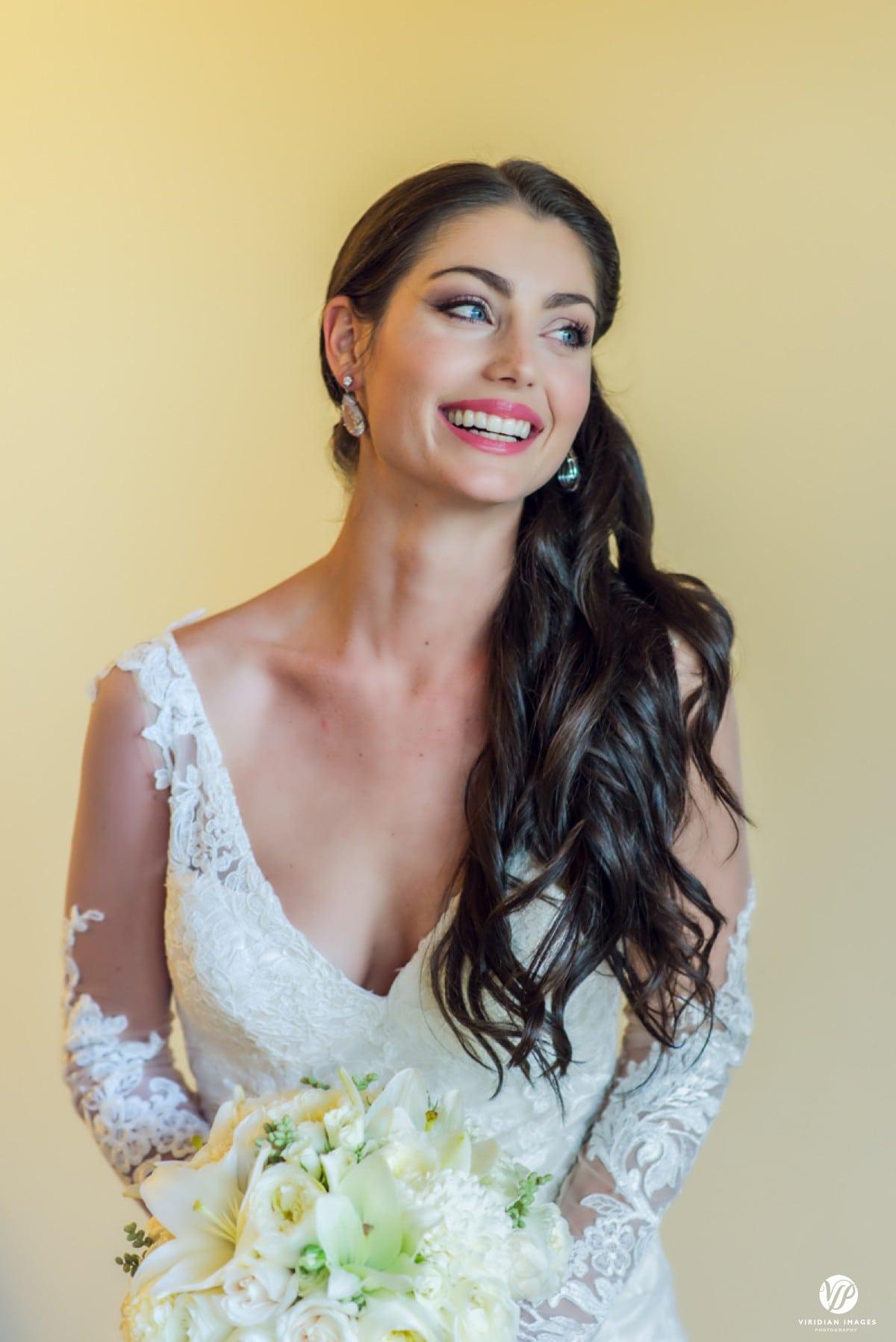 Secrets Capri Riviera bridal portrait