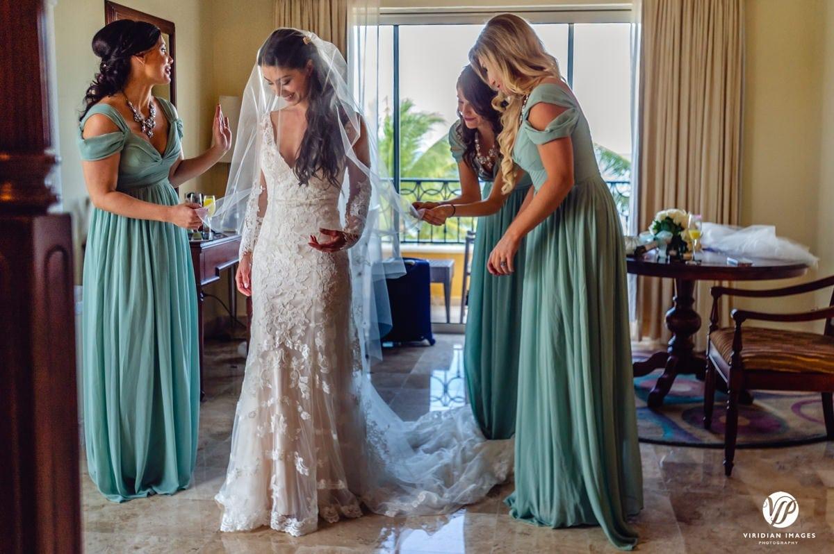 Secrets Capri Riviera bridal suite bride prepared