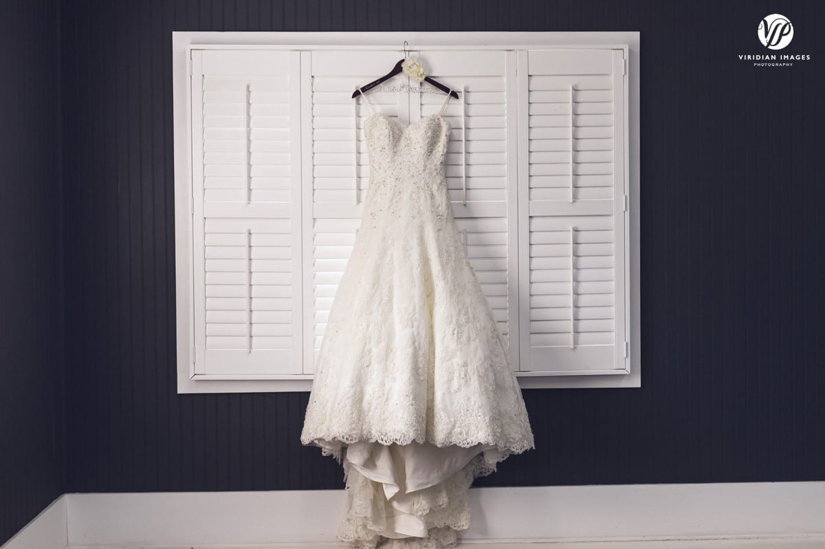 Wedding Dress Detail Walnut Hill Farms
