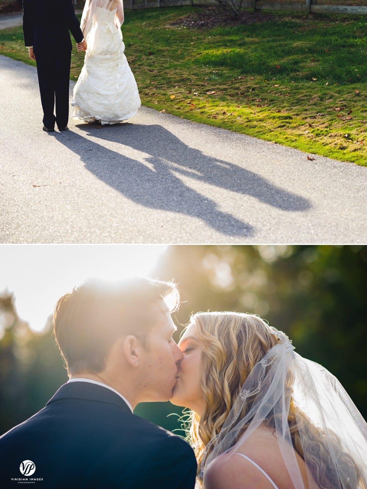 Creative shadow portrait couple Walnut Hill Farm Dalton GA