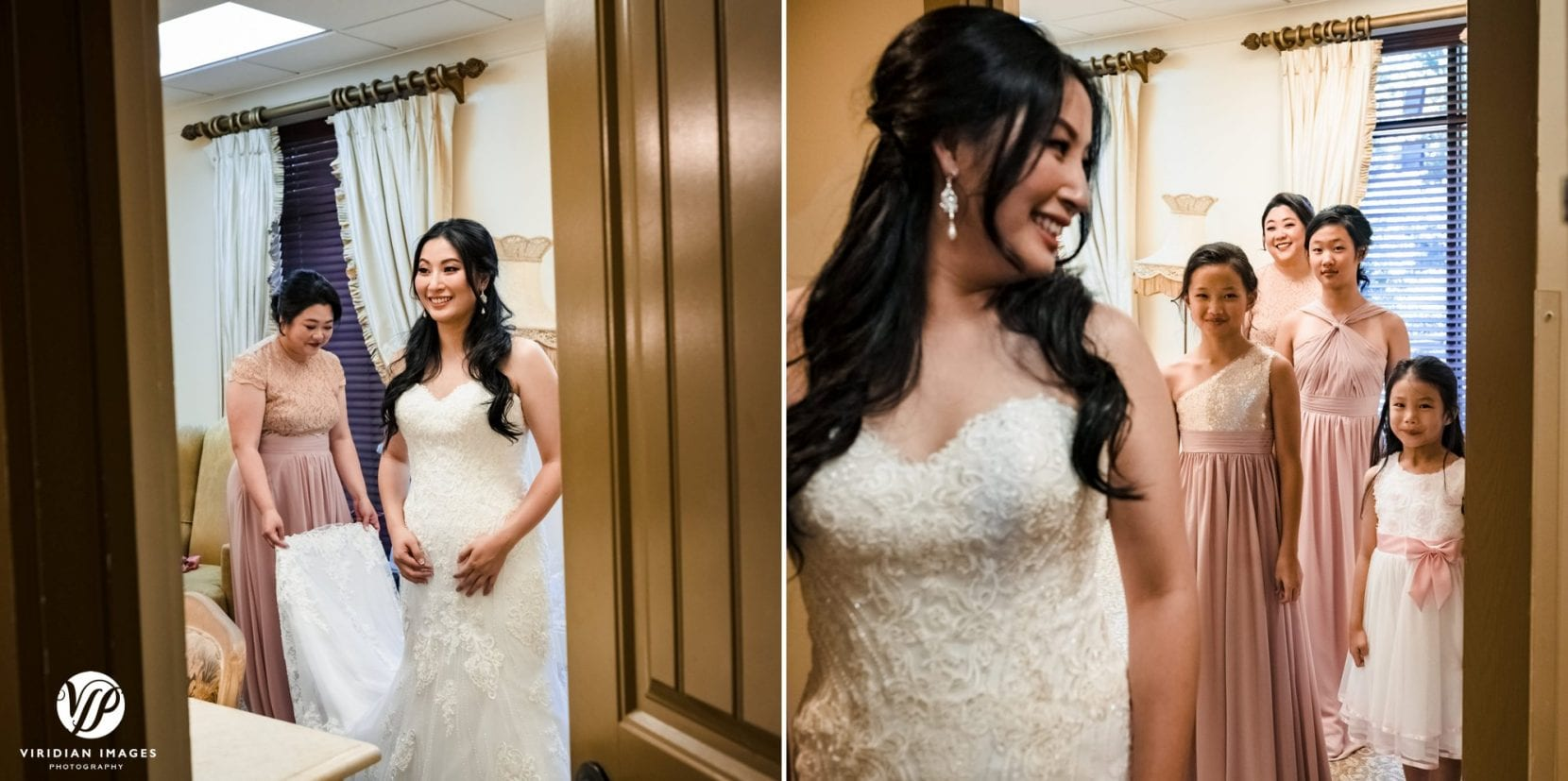 last minute bride prep bridesmaids